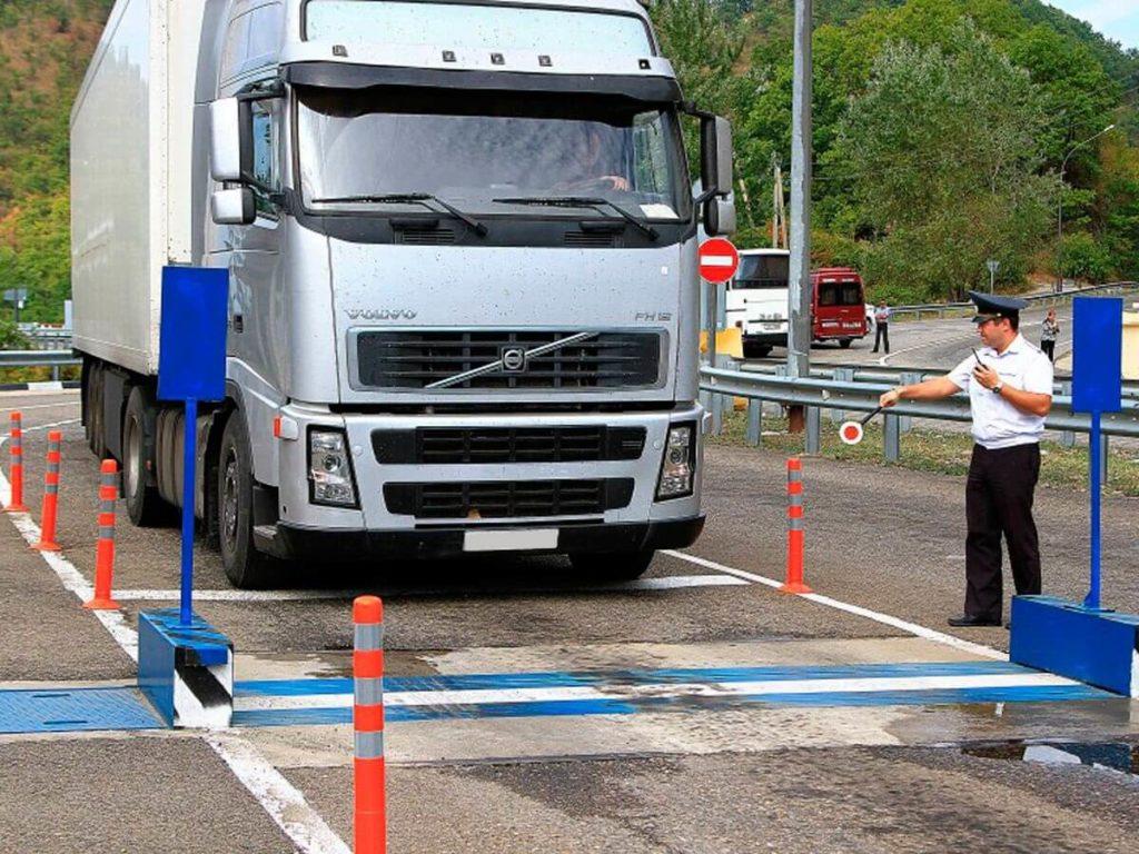 Весовой контроль на дорогах РФ