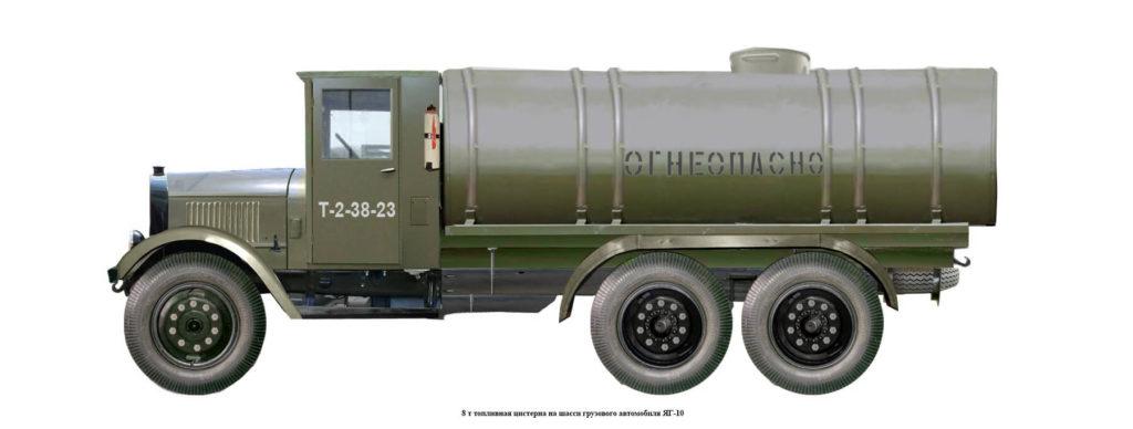 Автоцистерна ЯГ-10